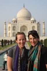 Me and my India travel partner.