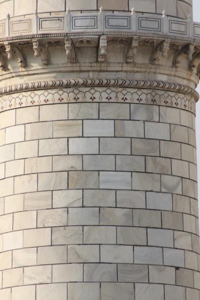 Brick detail.